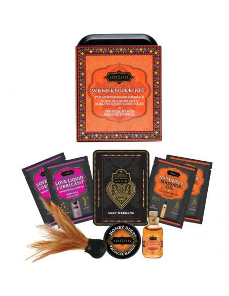 KAMASUTRA WEEKENDER TIN KIT MANGO TROPICAL - Imagen 2